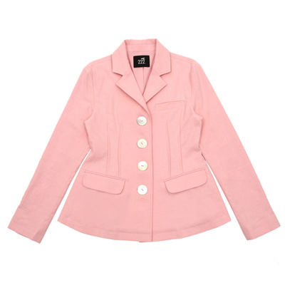 [B품 50% SALE 129,000→64,500] [222.A] Dear lady jacket (pink) - adult