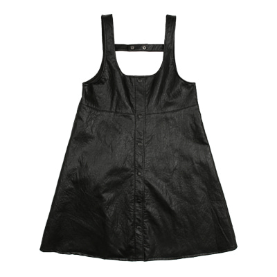 [여유수량 바로배송]BEBEBEBE leather series dress (KIDS)