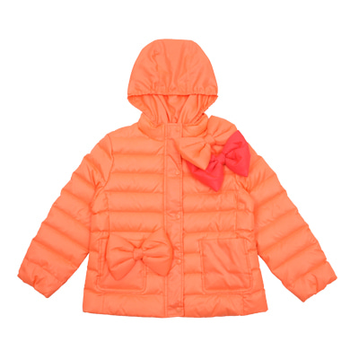 Ribbon duck down soft padded jacket