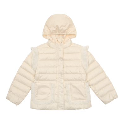 Angel duck down soft padded jacket
