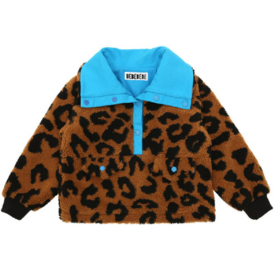 [여유수량 바로발송]Leopard dumble anorak (KIDS)