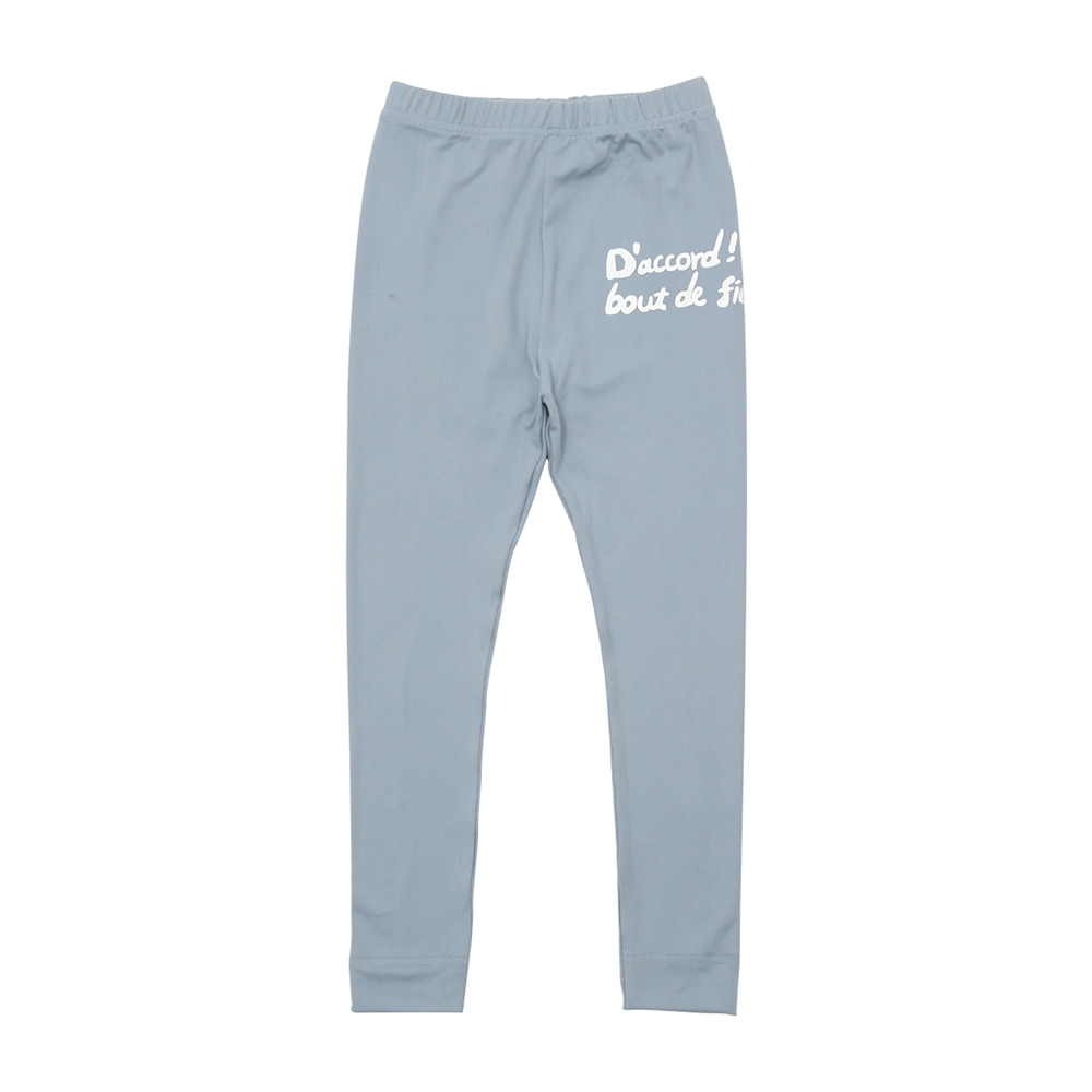 BEBEBEBE warm heat inner wear pants (LIGHT BLUE)
